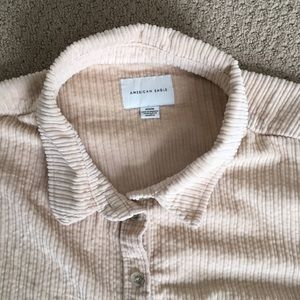 American Eagle Outfitters Sweaters - Corduroy Cropped Button
